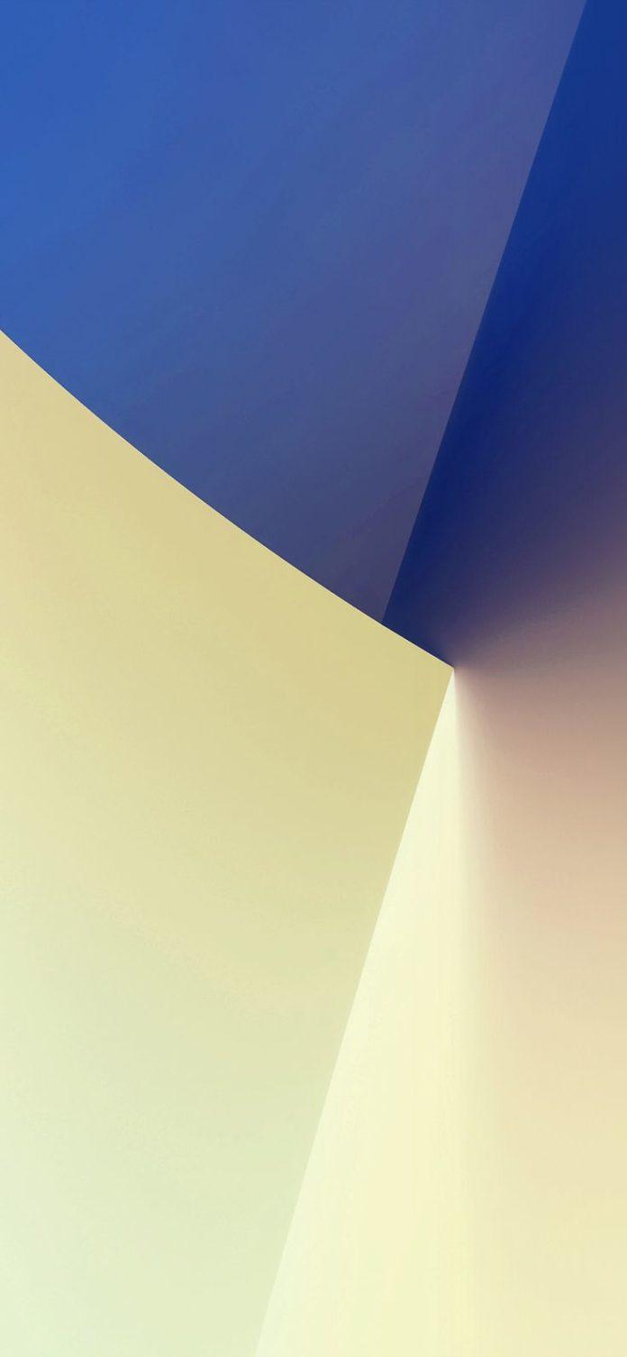 vs70-simple-minimal-polygon-blue-yellow-art-pattern-white via iPhoneXpapers.com ...