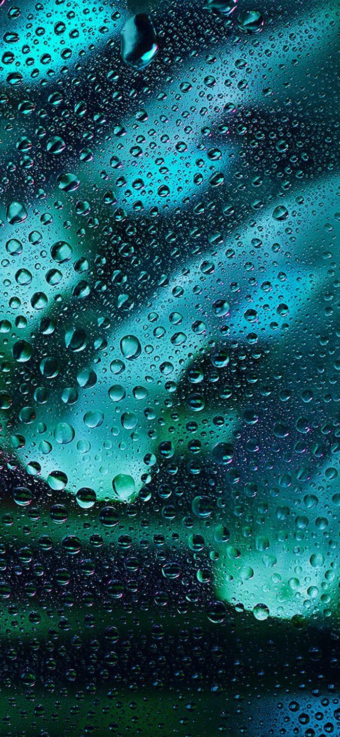 vx11-rainy-bubble-blue-dark-window-pattern-background via iPhoneXpapers.com - Wa...