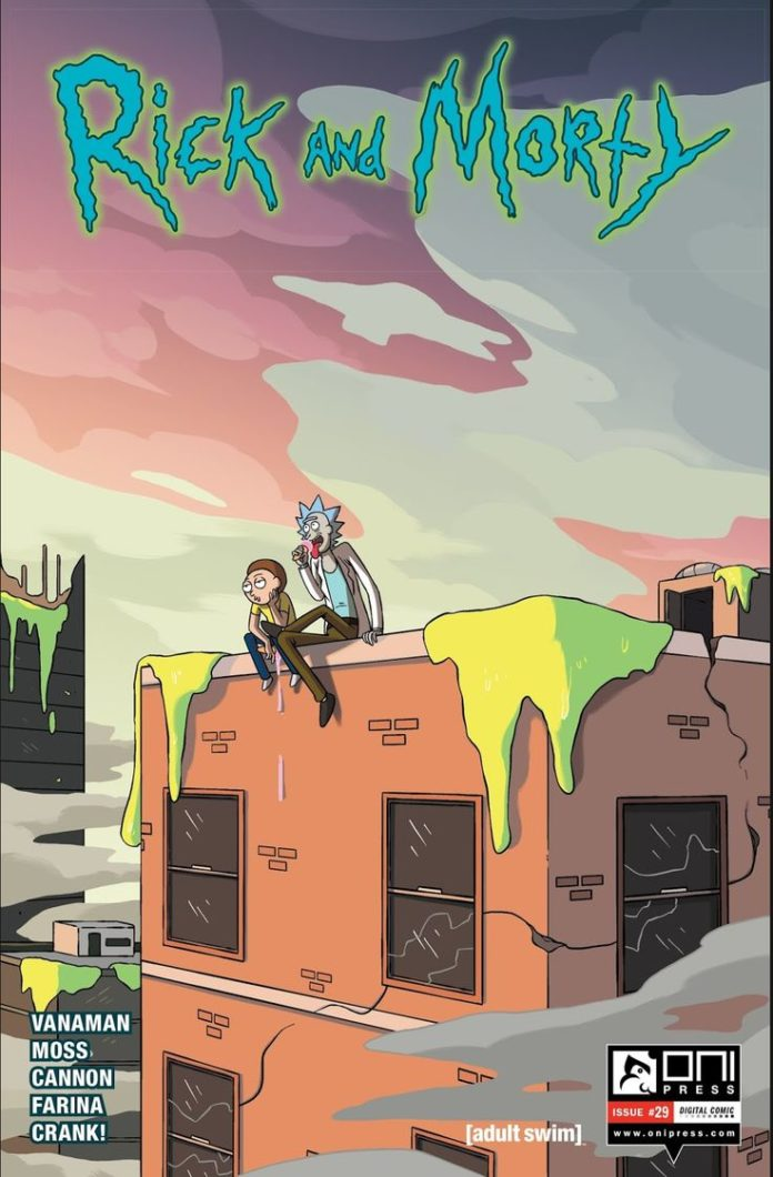 Am I the only one who just adore this cover ? #Rick and Morty comicbook