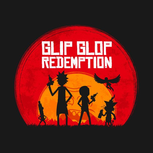 Red Dead Redemption Wallpaper Hd: Rick And Morty Wallpaper Iphone : Glip Glop Redemption