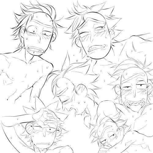Imágenes yaoi de Rick and Morty (Rick×Morty). Si no te gusta o lo con… #rand...