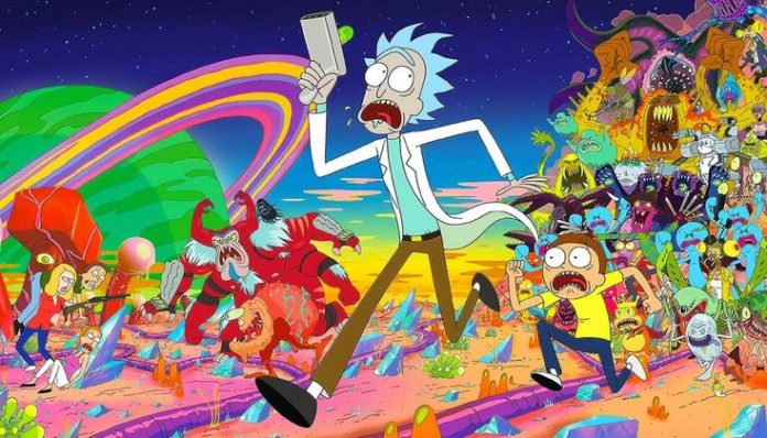 Rick And Morty Characters Poster