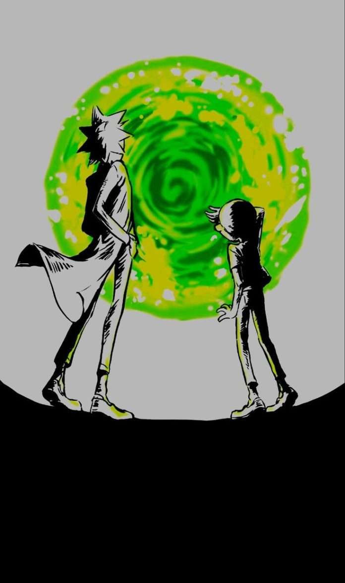 Rick and Morty (1080x1821) (i.redd.it) submitted by victorgrimaldo to /r/Amoledb...