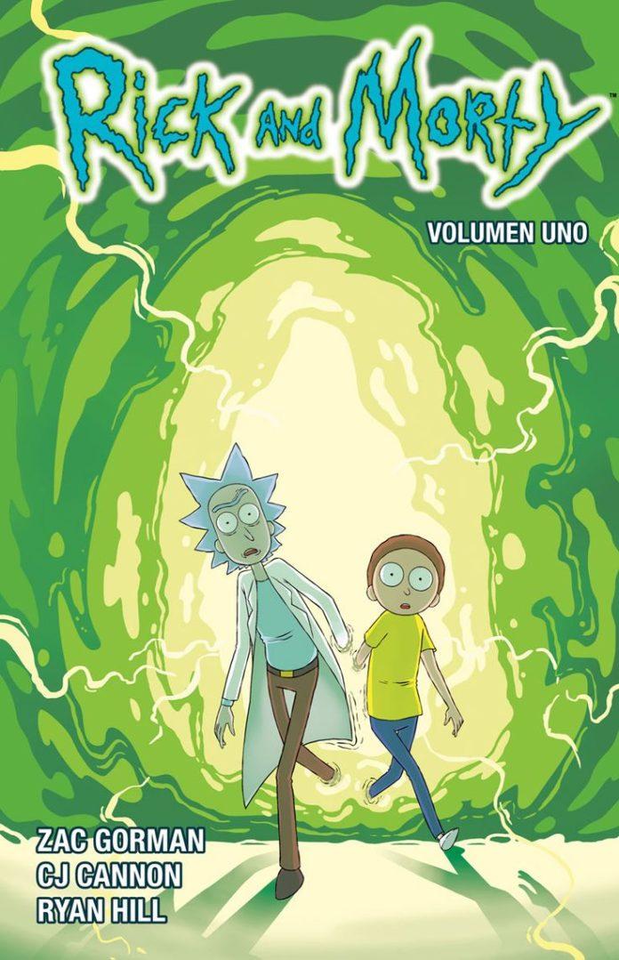 Rick and Morty Vol. 1, de Gorman, Cannon y Hill.