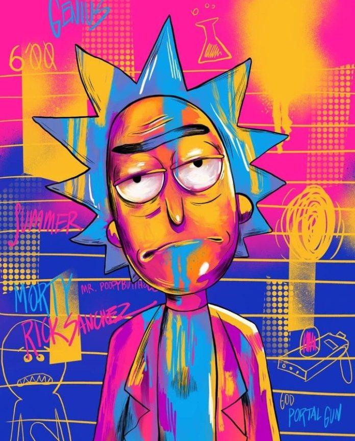 Rick and Morty x Rick Sanchez
