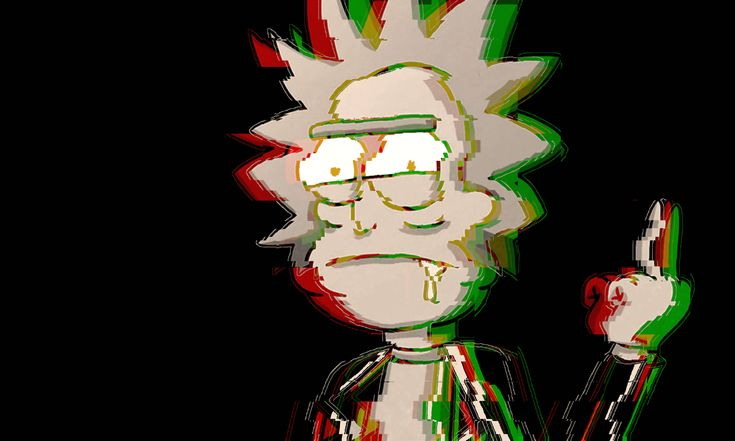 Rick And Morty Wallpaper Iphone Trippy 4k Rick And Morty Wallpaper