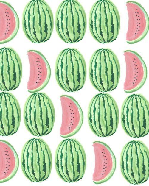 #Watermelon Print IV. #art #pattern #illustration