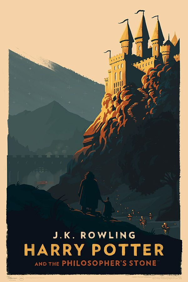 'Harry Potter and the Philosopher's Stone' poster