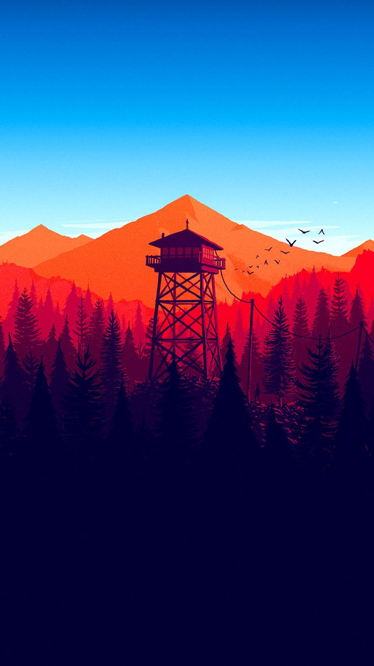 Firewatch Wallpaper Best Latest Cool Iphone 7 Wallpapers For 2017