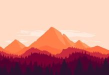 "Check out new work on my @Behance portfolio: ""Mountain landscape"" on.be.net/1N8b..."