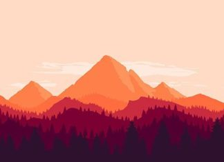 """Check out new work on my @Behance portfolio: """"Mountain landscape"""" on.be.net/1N8b..."""