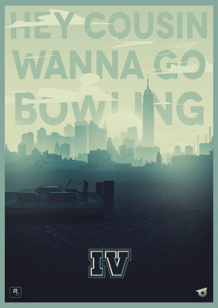 Fan posters I did for Rockstar Games GTA series and a poster for Rockstar Games ...