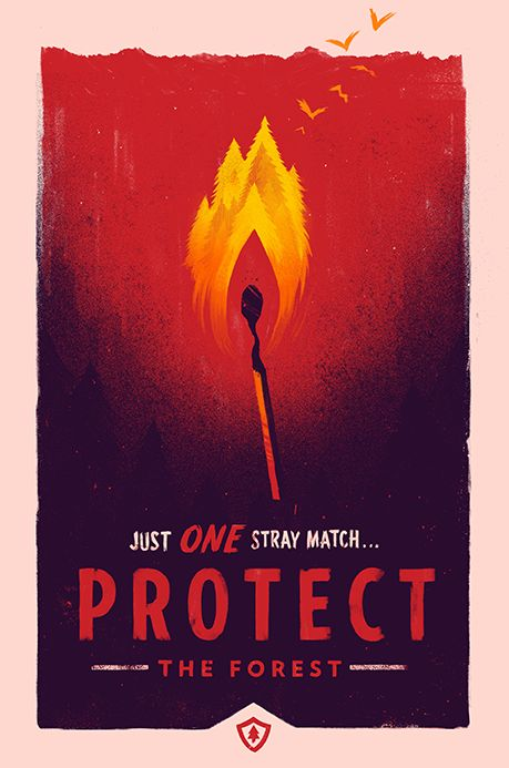Firewatch Print Set by OLLY MOSS