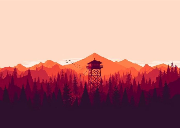 Firewatch based on 1980s text adventures