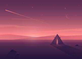 Sunset by Julia #Design Popular #Dribbble #shots