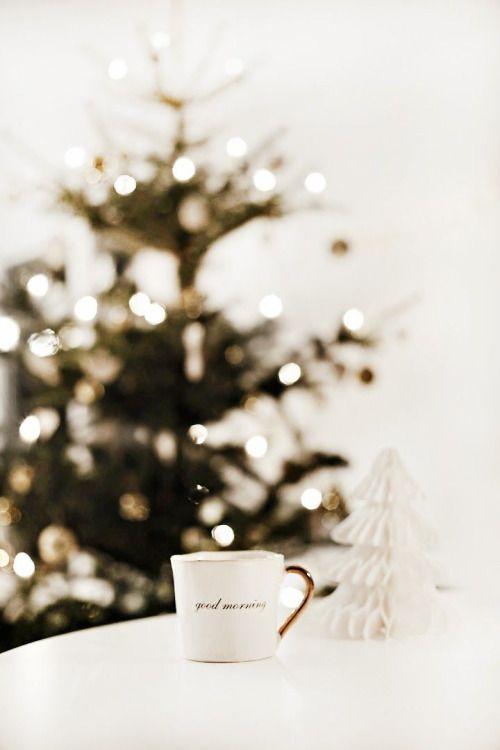 Classic white and bright Santa