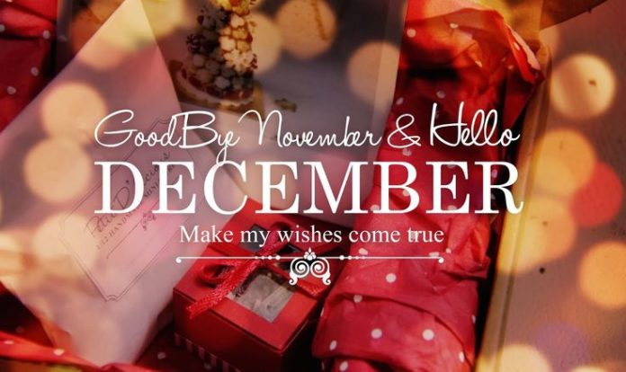 Goodbye November & Hello December, Make My Wishes Come True december quotes hell...