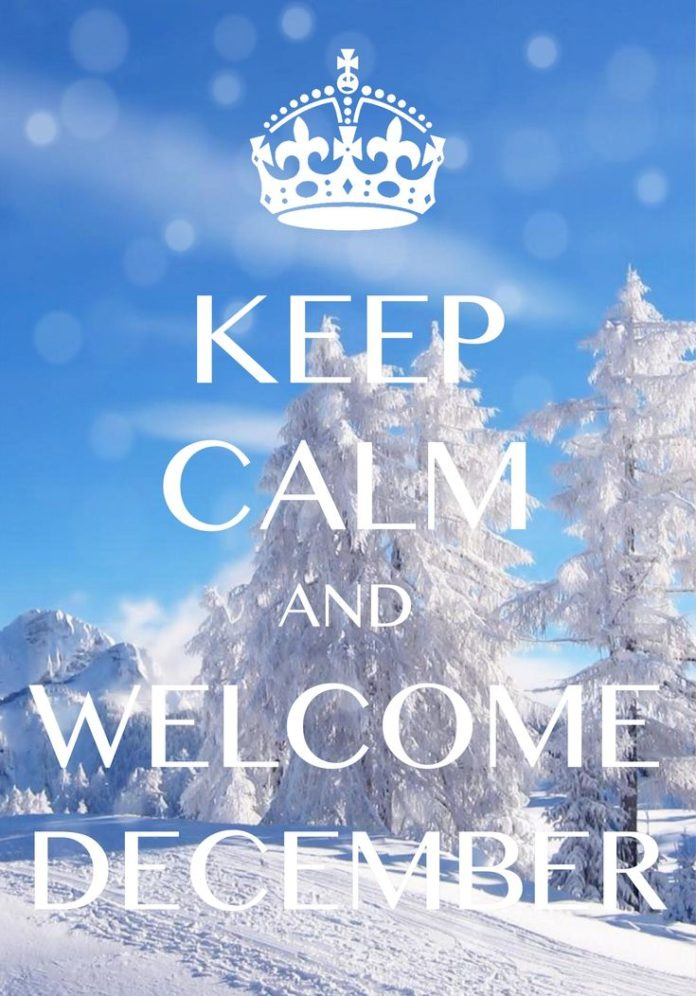 keep calm and welcome December / Created with Keep Calm and Carry On for iOS #ke...