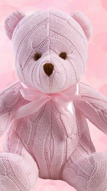 Pink Teddy ✿⊱╮