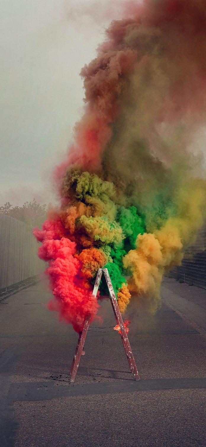 ba15-smog-fire-color-rainbow-illustration-art via iPhoneXpapers.com - Wallpapers...