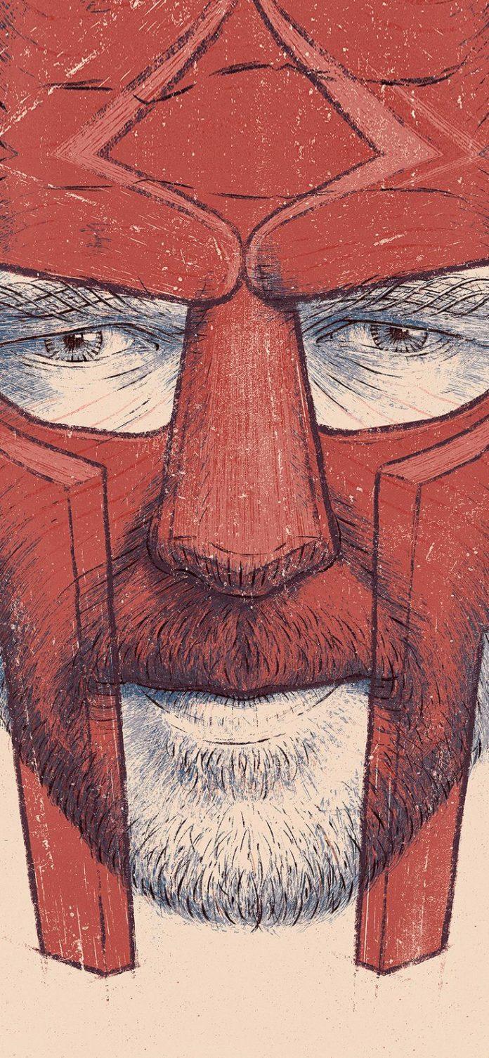 bg01-gladiator-anime-illustration-red-art via iPhoneXpapers.com - Wallpapers for...