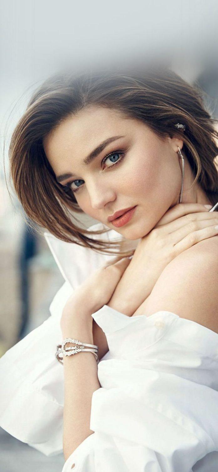 hq20-miranda-kerr-girl-dress-white-beauty via iPhoneXpapers.com - Wallpapers for...