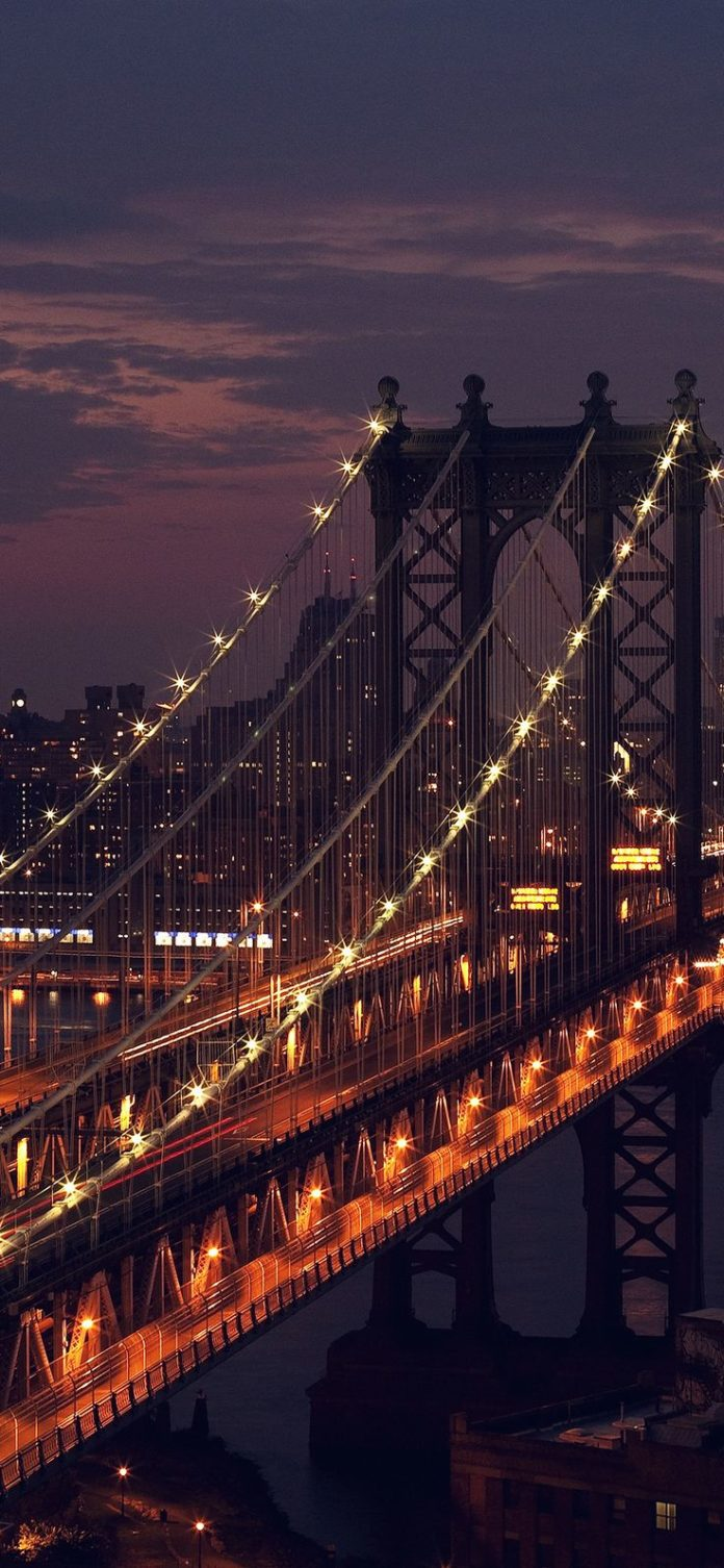 mn29-bridge-city-river-night-view-nature via iPhoneXpapers.com - Wallpapers for ...