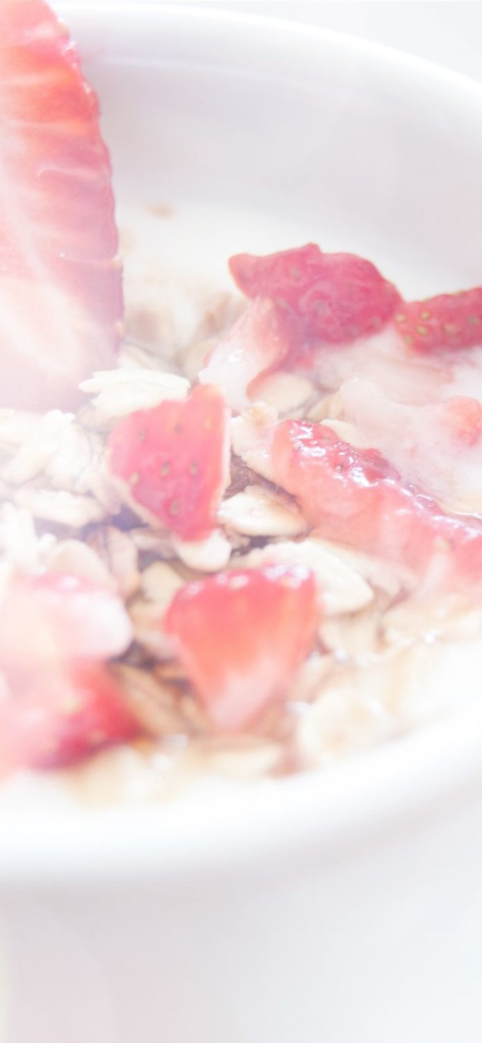 mq62-strawberry-frost-milk-morning-happy-flare via iPhoneXpapers.com - Wallpaper...