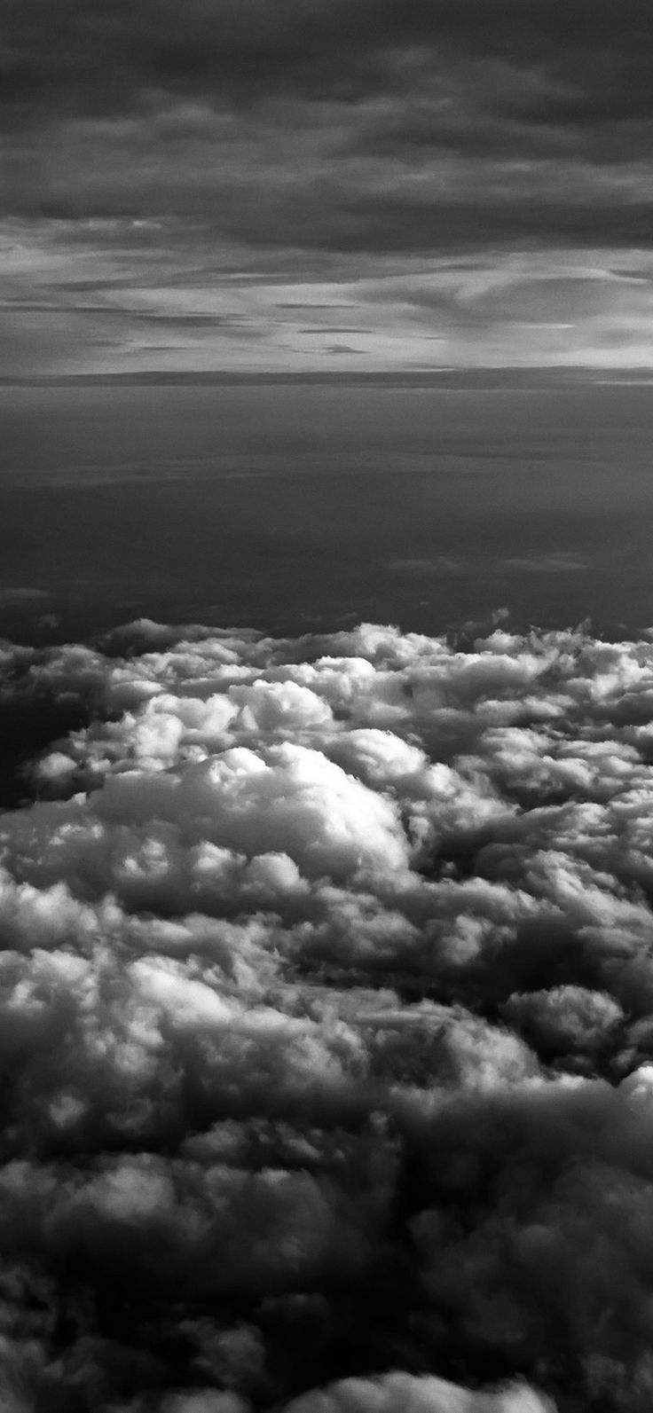 Iphone X Wallpaper Mq81 Cloud Flare Sky View Nature White Dark Via