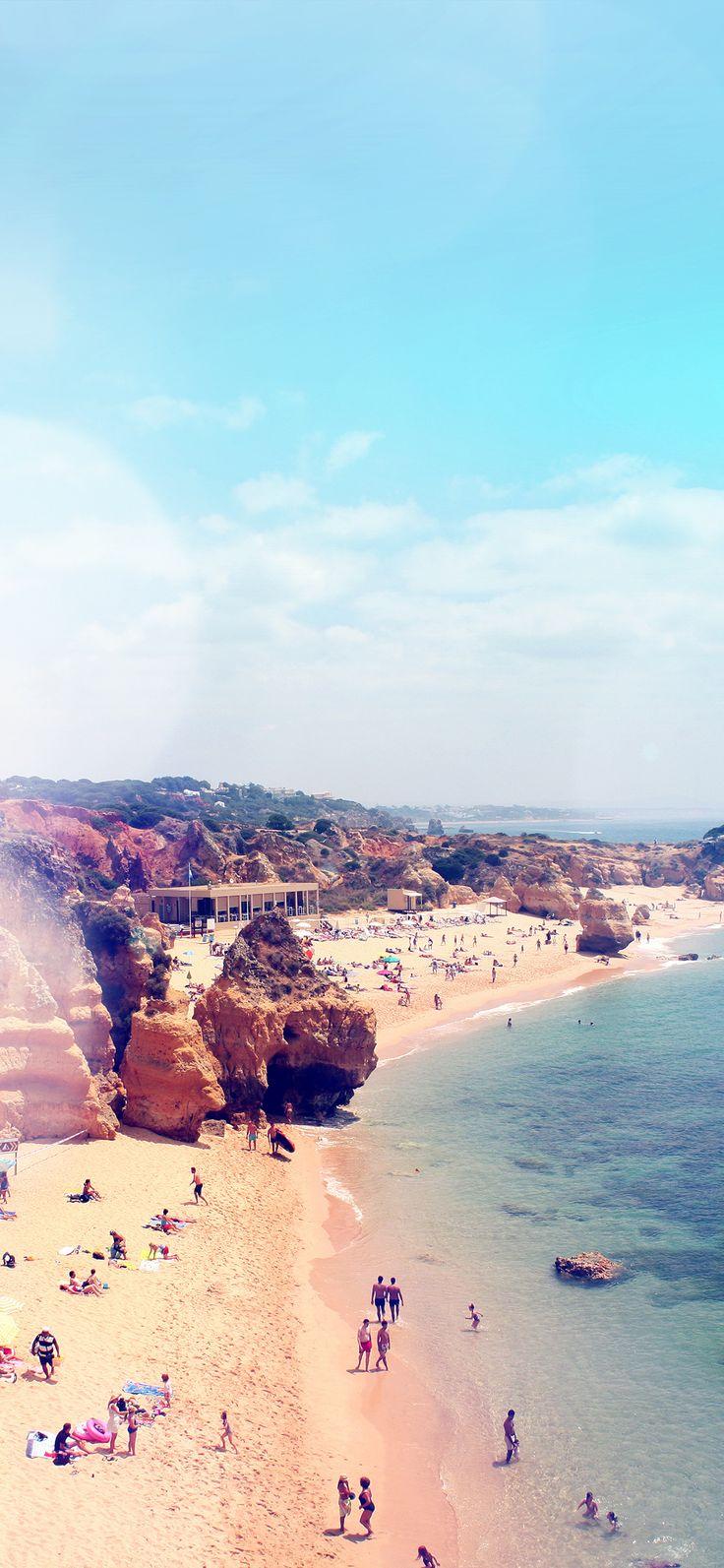 Iphone X Wallpaper Mr86 Coast Beach Sunny Holiday Vacation Sea Sky