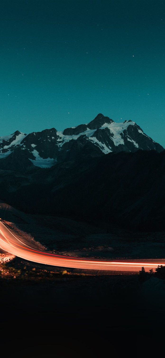 nn42-night-mountain-road-street-light-green via iPhoneXpapers.com - Wallpapers f...