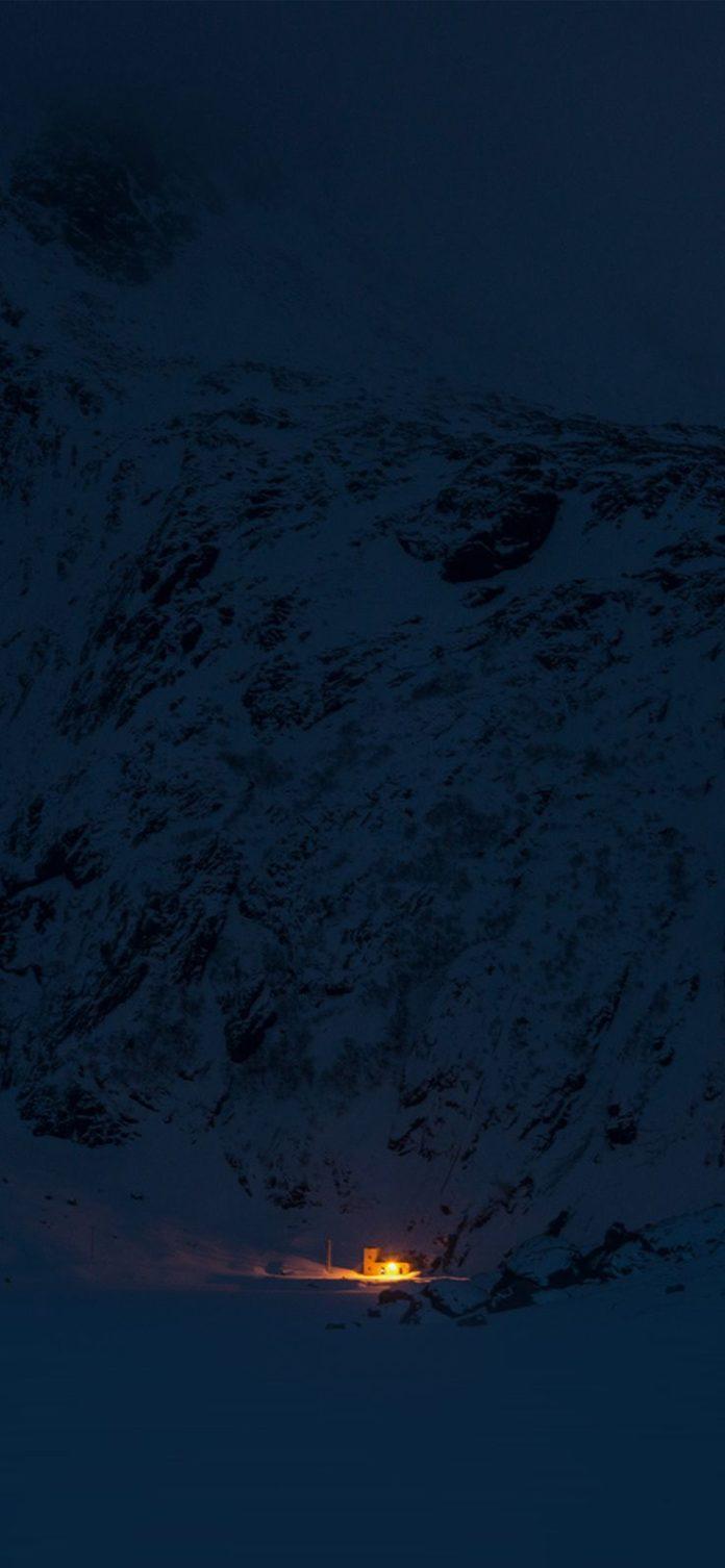 ny05-mountain-night-light-snow-winter-nature via iPhoneXpapers.com - Wallpapers ...