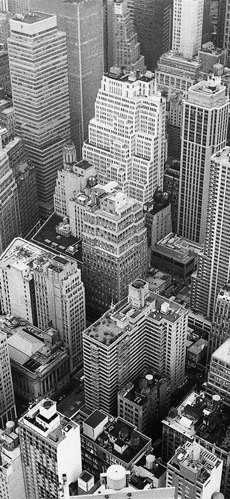 Iphone X Wallpaper Nz07 City Bw Dark Architecture Nature Via