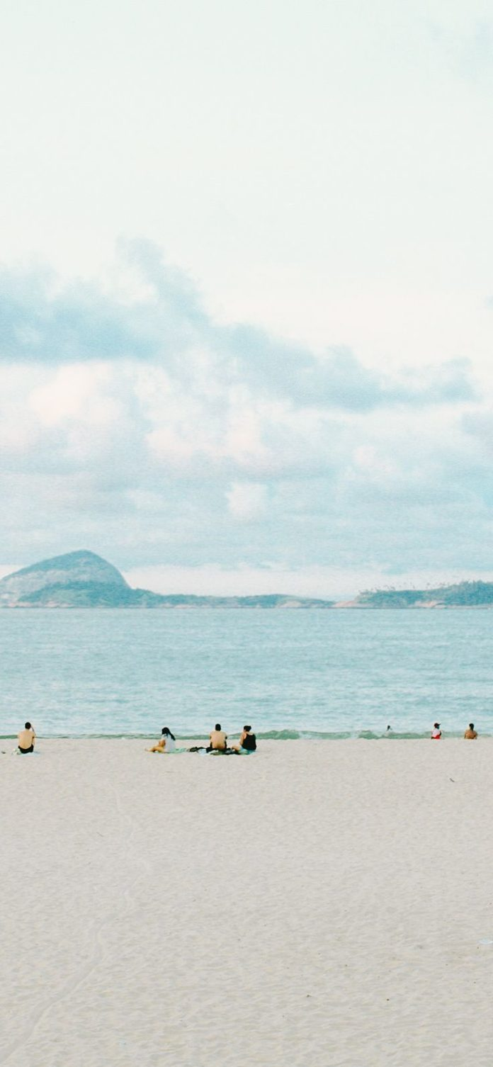 nz16-beach-holiday-sea-cloud-island-wave-nature via iPhoneXpapers.com - Wallpape...