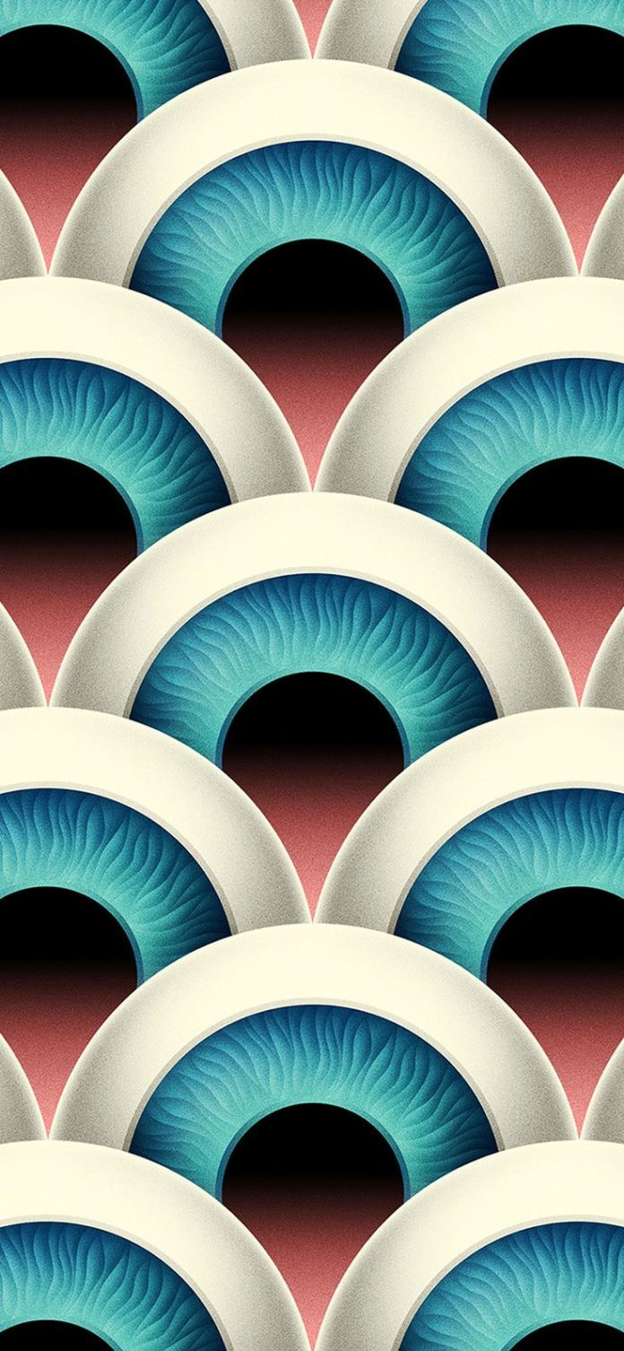 vz57-eye-duplicate-pattern-background via iPhoneXpapers.com - Wallpapers for iPh...