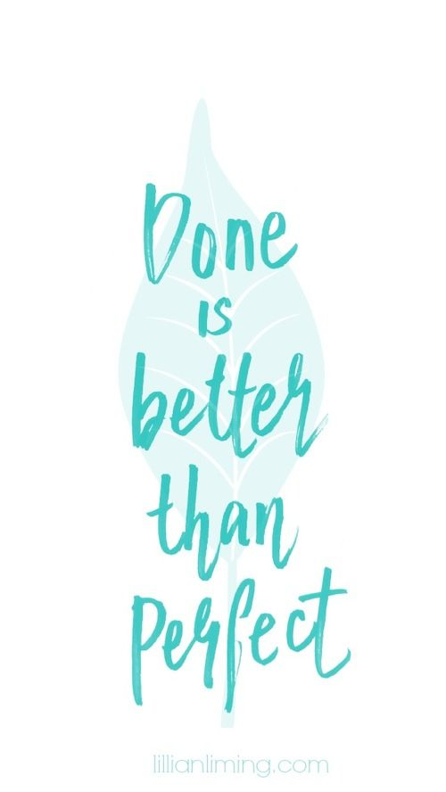 FREE DOWNLOAD | SCREENLOCK | DONE IS BETTER THAN PERFECT #handlettering by lilli...