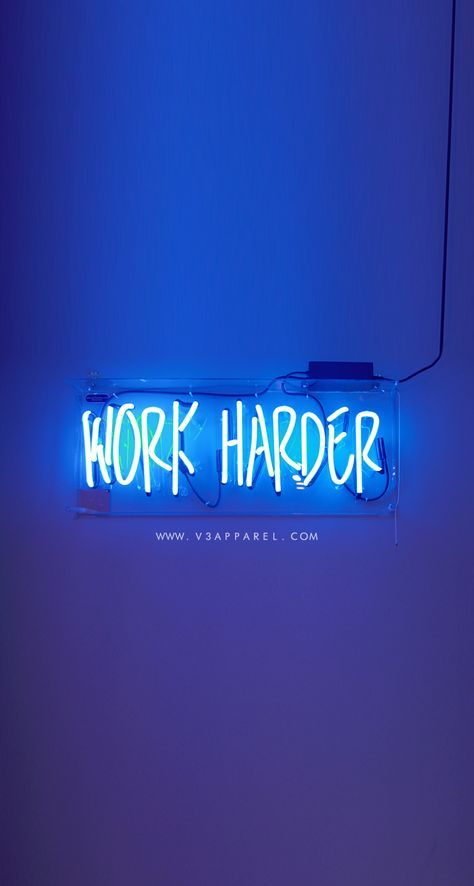 WORK HARDER! Download this phone wallpaper and many more for motivation on the g...