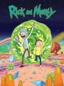 // ASTHETIZED // RICK AND MORTY