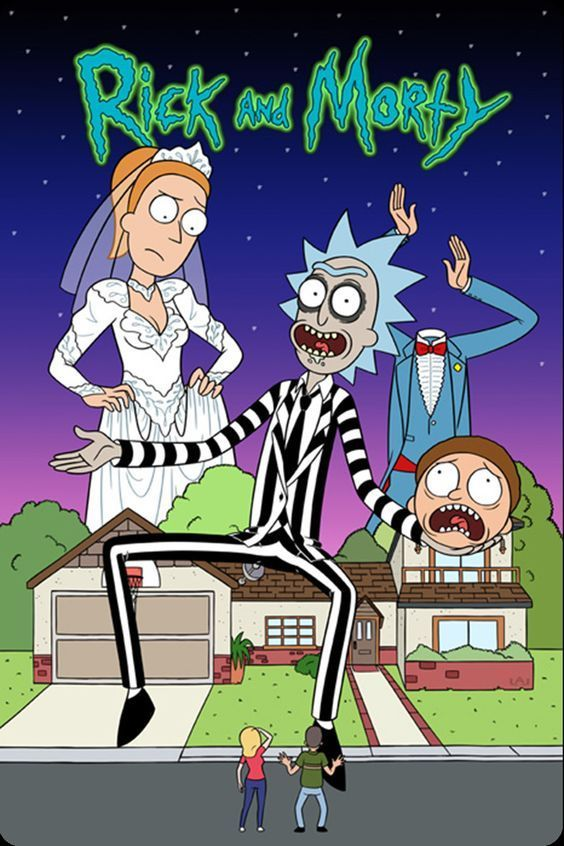 Rick And Morty Wallpaper Iphone Beetlejuice Gimmick