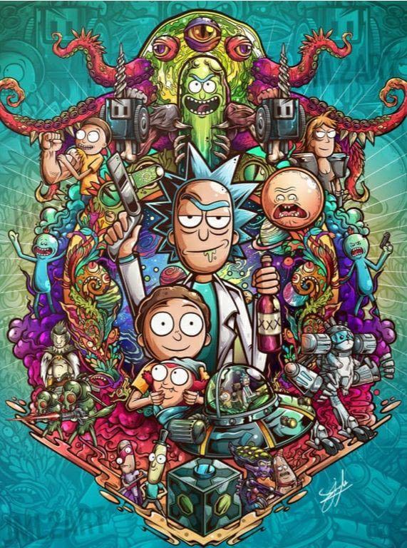 Rick and Morty - 9GAG