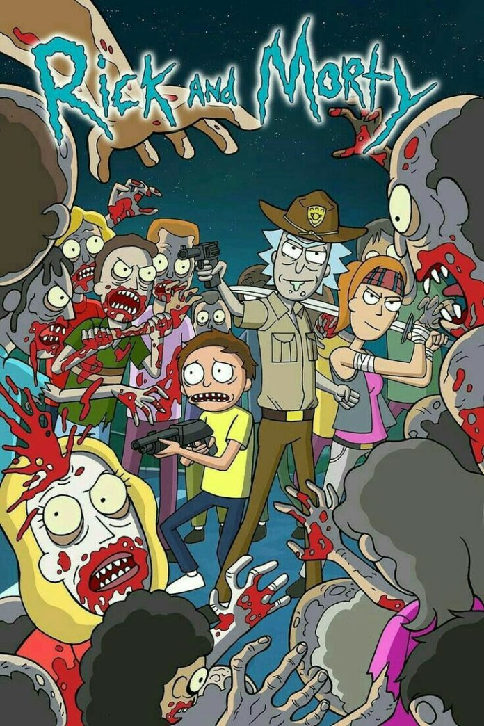 Rick and Morty (The Walking Dead Crossover)