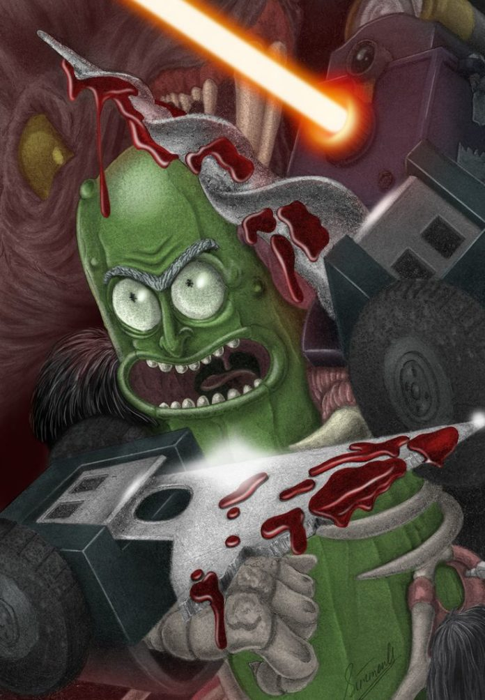 Rick and Morty x Pickle Rick
