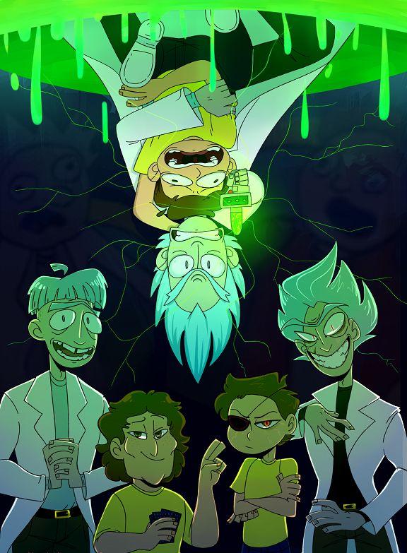 Rick and Morty,Рик и Морти, рик и морти, ,фэндомы,Rick ...