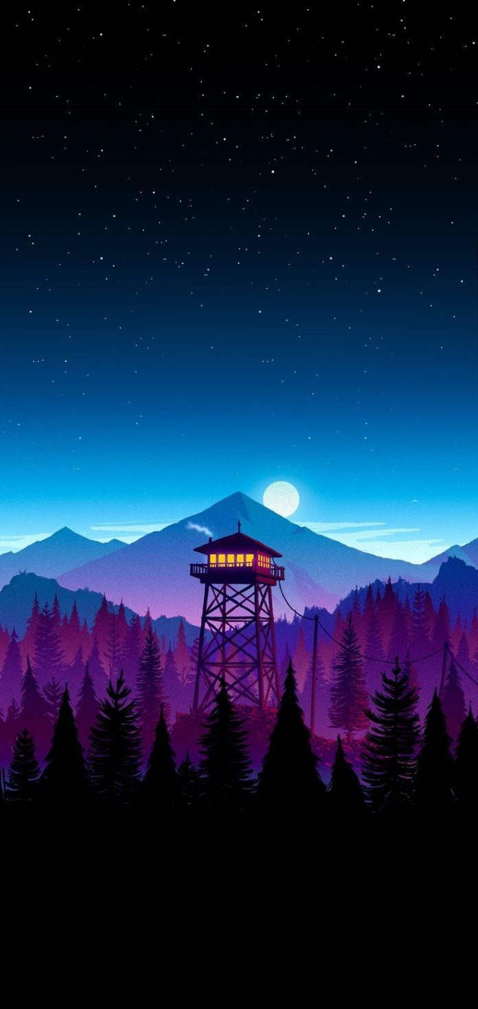 Firewatch wallpaper I made for my iPhone X Download at: www.myfavwallpape... #ip...