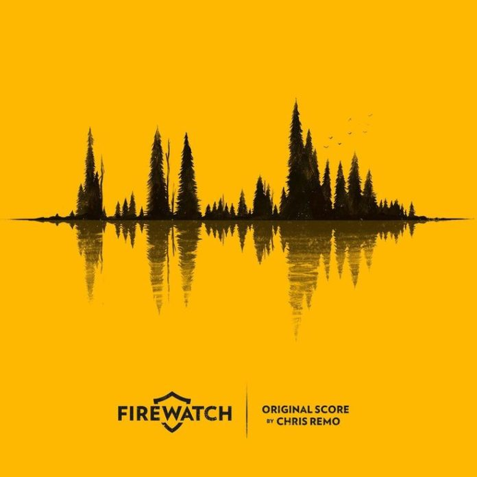 The firewatch soundtrack cover art looks as good as the rest of the game