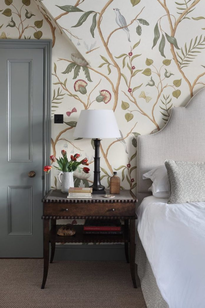 English charm .. Master Bedroom in a Thames side townhouse by hàm interiors fea...