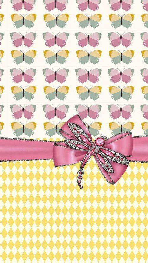 Image via We Heart It #background #butterflies #cute #desktop #now #wallpaper #w...
