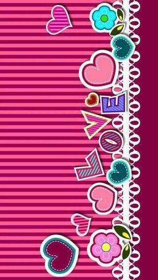 iPhone Wall - Love tjn