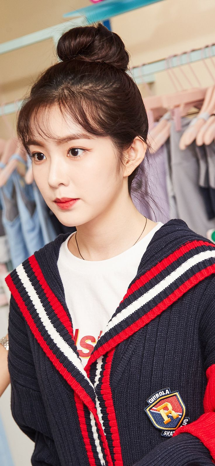 Iphone X Wallpaper Ho80 Girl Cute Kpop Asian Woman Via