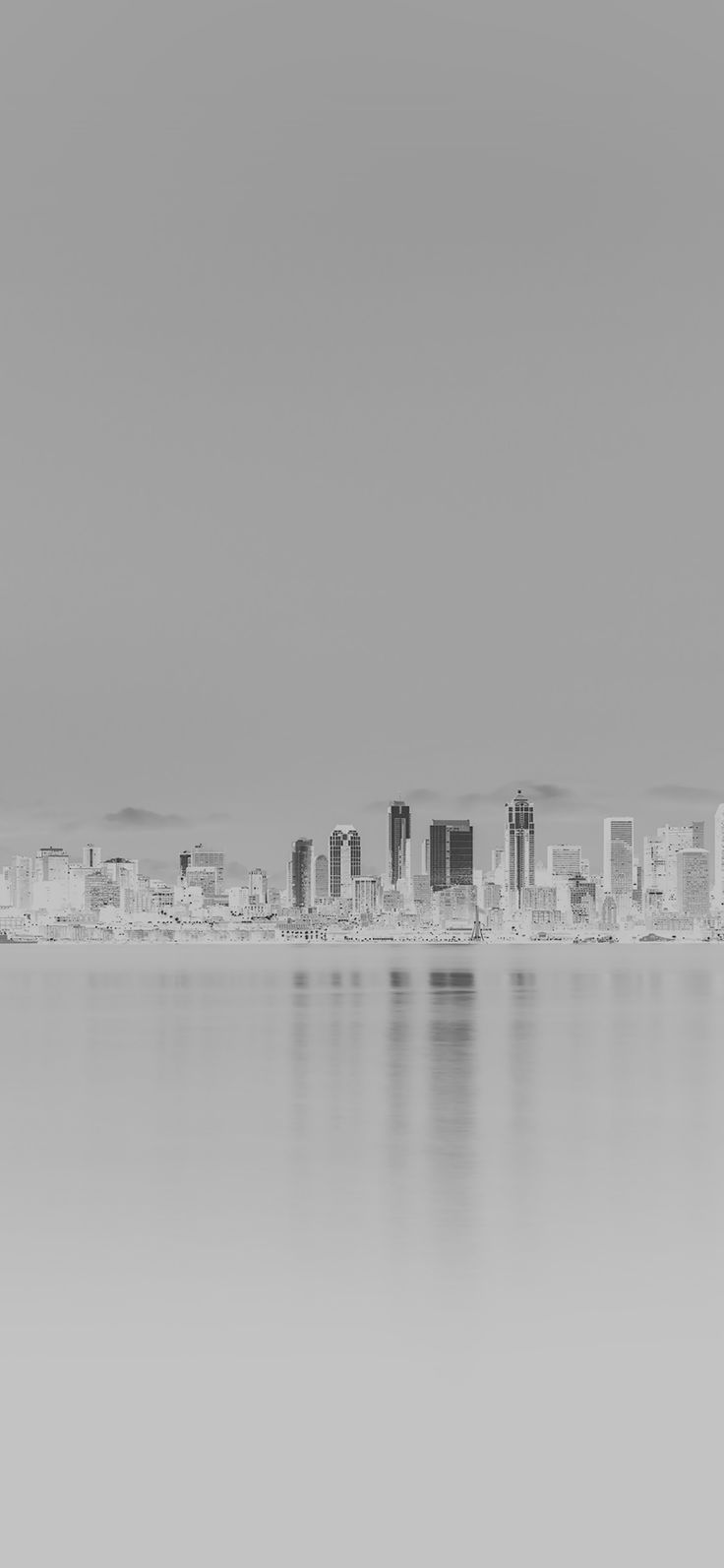 Iphone X Wallpaper Mk26 Night City View White Bw Nautre